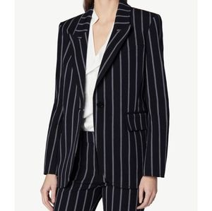 Derek Lam 10 Crosby Striped Blazer Size 4